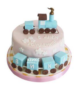 Торт паровозик 11