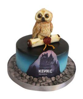 Торт сова 10