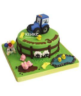 Торт трактор 5
