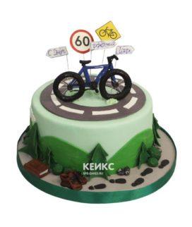 Торт велосипед 8