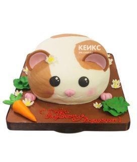 Торт хомяк 8