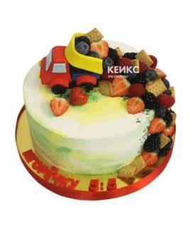 Торт ягодный для мальчика 17