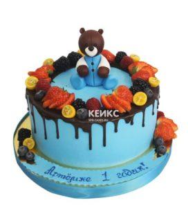 Торт ягодный для мальчика 18