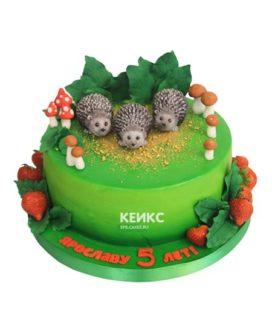 Торт ёжик 10