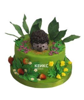 Торт ёжик 11
