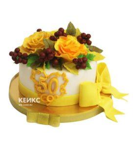 Торт женщине на юбилей 50 лет 24