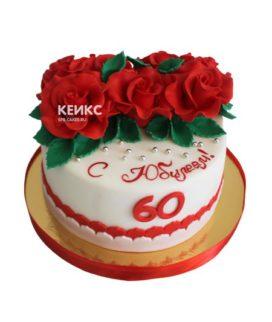 Торт женщине на юбилей 60 лет 9